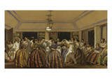 A Ball in the Philippines Giclee Print by C.W. Andrews