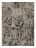 The Seven Acts of Mercy: Ransoming Prisoners Poster by Pieter Cornelisz. Kunst