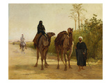 The Travellers Giclee Print by Heywood Hardy