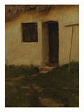 A Cottage Door Giclee Print by Harold Gilman