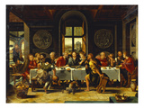 The Last Supper Art by Pieter Coecke van Aelst (Studio of)
