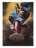 The Madonna of the Rosary Premium Giclee Print by Carlo Francesco Novoloni (Follower of)