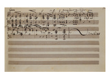 Lied, a Song Without Words, for Pianoforte in E Flat Major Giclee Print by Félix Mendelssohn-Bartholdy