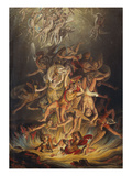 The Fall of the Angels Giclee Print by Edward Dayes