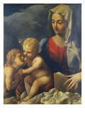 The Madonna and Child with the Infant Saint John Giclee Print by Carlo Bononi (Circle of)