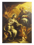 L'immaculée conception Reproduction procédé giclée par Gregorio de Ferrari (Circle of)