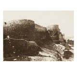 Roman Ramparts, Arles Giclee Print by Charles Negre