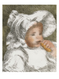 Infant with Biscuit; L'Enfant Au Biscuit Posters by Pierre-Auguste Renoir