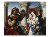 Othello and Desdemona Giclee Print by Daniel Maclise