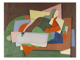 Reclining Nude; Nu Allonge Print by Georges Valmier