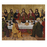 The Last Supper Print by The Perea Master