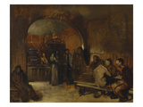 A Tavern Interior Posters av Sir William Orpen