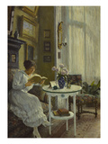 The Afternoon Read Giclee Print by Paul Fischer