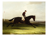 Colonel Pearson's 'Achievement' with J. Chalmer Up in a Landscape Giclee Print by William Joseph Shayer