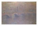 The Thames at London, Waterloo Bridge; La Tamise a Londres, Waterloo Bridge ジクレープリント : クロード・モネ