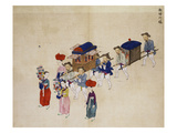 Procession Giclee Print by Kim Junkeun