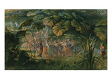 Fairy Dance in a Clearing Giclee Print by Richard Doyle