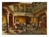 Posada De La Sangre, Toledo Prints by Emilio Poy Dalmau