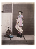 Japan, Geisha Reproduction procédé giclée