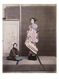 Japan, Geisha Giclee Print