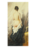 In the Boudoir Giclee Print by Charles Chaplin