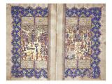 Ali Shir Nawai: Nawadir Al-Shabab, Shiraz, Circa 1580 Premium Giclee Print