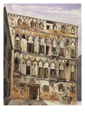 Palazzo Orfei, Venice Posters by George Edmund Street