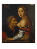 Cimon and Pero (Caritas Romana) Giclee Print by Georg Pencz