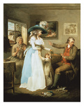 The Story of Laetitia: the Virtuous Parent Print by George Morland