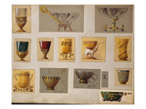 A Selection of Designs from the House of Faberge Including Bowls Goblets Cups and Tumblers Posters