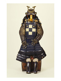 A Suit of Samurai Armour, the Kabuto Comprising a Fine Sixty-Two Plate Russet-Iron Sujibach Premium Giclee Print