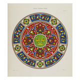 Mosque, Suleimanie Vitraux,From 'Ottoman Architecture' Posters by Marie Delaunay