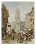 All Saints Pavement, York Giclee Print by Louise J. Rayner