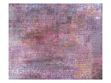 Cathedrals; Kathedralen Art by Paul Klee