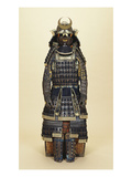 A Suit of Samurai Armour, the Kabuto Comprising a Fine Sixty-Two Plate Russet-Iron Sujibachi and… Giclee Print