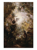 The Fairy Haunt Gicl&#233;e-Druck von Florence Vernon