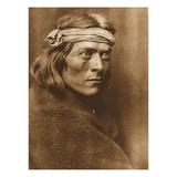 North American Indian, a Zuni Governor Reproduction procédé giclée par Edward S. Curtis