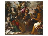 Personifications of the Liberal Arts Giclee Print by Miguel March