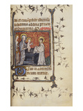 Presentation in the Temple. Book of Hours, Use of Paris, in Latin and French Prints