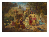 The Feast of Venus Premium Giclee Print by Emmanuel Oberhauser