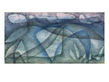Rainy Day; Regentag Gicl&#233;e-Druck von Paul Klee