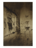 Nocturne: Palaces Print by James Abbott McNeill Whistler