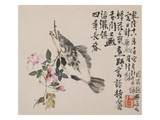 A Page (Fish) from Flowers and Bird, Vegetables and Fruits Giclee Print by Li Shan