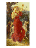 The Goat Girl Reproduction proc&#233;d&#233; gicl&#233;e par Edith Ridley Corbet