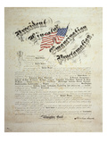 President Lincoln, Emancipation Proclamation, San Francisco Posters
