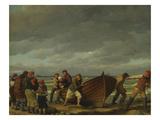 Fishermen from Hornbaek Posters by Christian Wilhelm Eckersberg