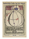 Cover of 'Deutsche Kunst Und Dekoration' Art by Margaret Macdonald Mackintosh