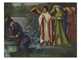 Chaucer's Dream of Good Women Impressão giclée por Edward Burne-Jones