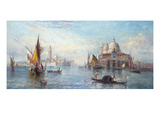 The Dogana, Venice Giclee Print by Alfred Pollentine