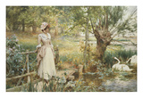 A Summer&#39;s Afternoon Giclee Print by Alfred Augustus Glendening